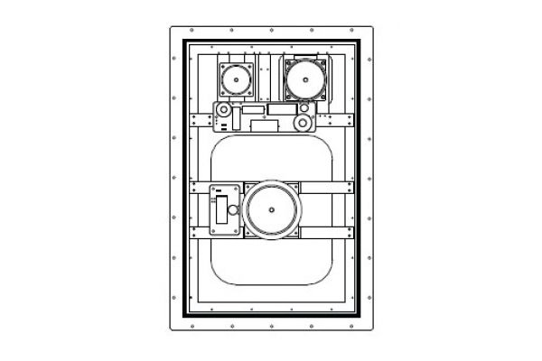 Large image of Sonance IS4 In-Wall Invisible Speakers (Pair) - 92966