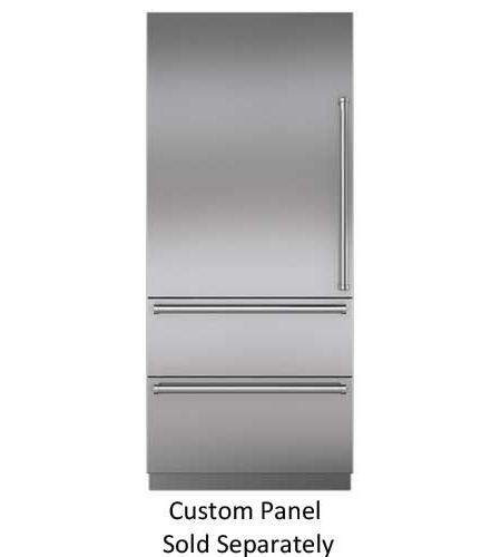 Sub Zero 36 Panel Ready Integrated Bottom Freezer Refrigerator It 36ciid