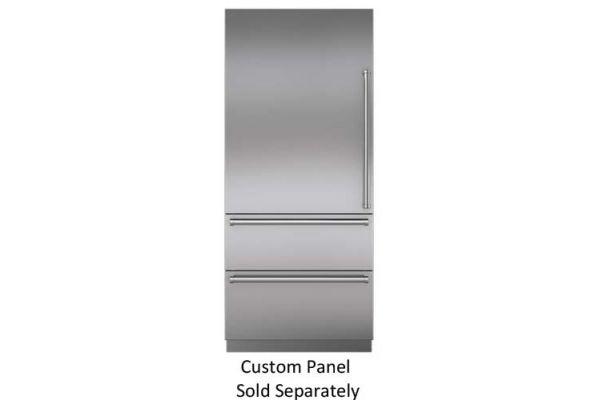 "Sub-Zero 36"" Panel Ready Integrated Bottom-Freezer Refrigerator - IT-36CIID-LH"