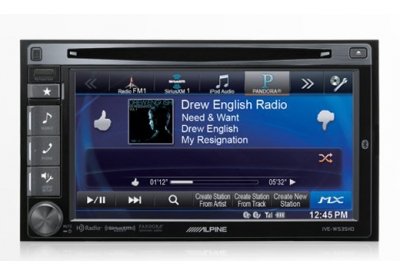 Alpine - IVE-W535HD - Car Stereos - Double DIN