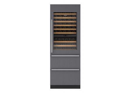 "Sub-Zero 30"" Panel Ready Integrated Wine Refrigerator With Drawers  - IW30RRH"