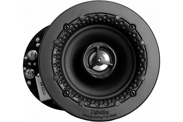 """Definitive Technology Disappearing Series 3.5"""" White In-Wall/In-Ceiling Speaker (Each) - UEQA"""
