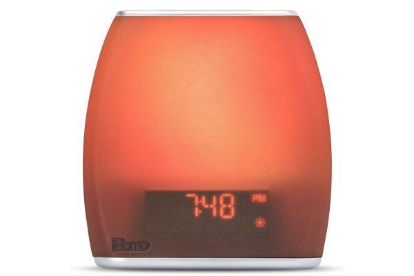 iHome Zenergy Bedside Sleep Therapy Dual Alarm Clock Radio - IZBT10