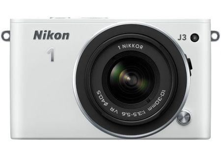 Nikon - J3KITWH - Digital Cameras