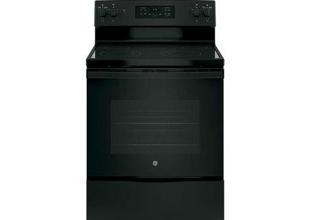 "GE 30"" Black Freestanding Electric Range - JB645DKBB"