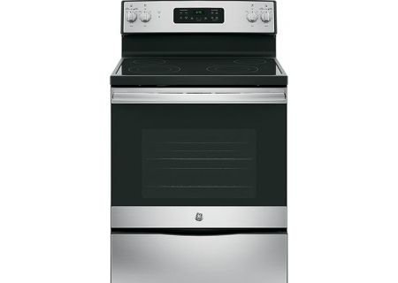 "GE 30"" Stainless Steel Freestanding Electric Range - JB645RKSS"