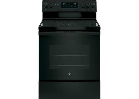 "GE 30"" Black Freestanding Electric Range - JB655DKBB"