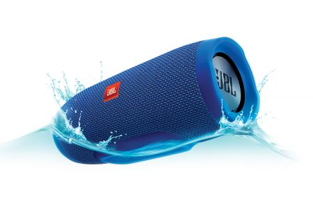 JBL - JBLCHARGE3BLUEAM - Bluetooth & Portable Speakers