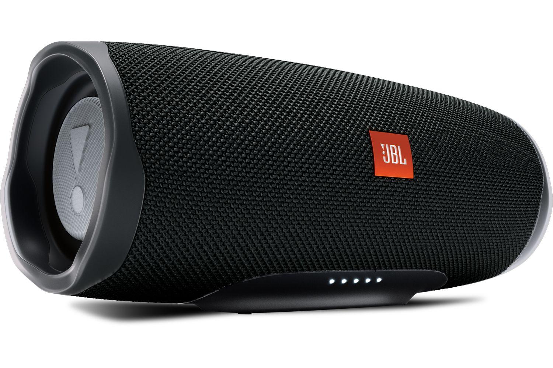 JBL Charge 4 Black Bluetooth Speaker - JBLCHARGE4BLK