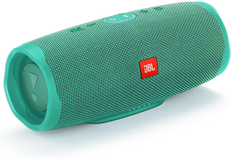 31c0795e99b JBL Charge 4 Teal Portable Bluetooth Speaker - JBLCHARGE4TEALAM