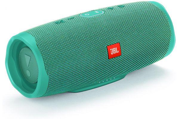 Large image of JBL Charge 4 Teal Portable Bluetooth Speaker - JBLCHARGE4TEALAM
