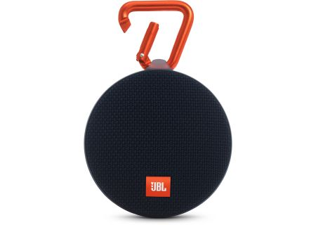 JBL Clip 2 Black Portable Bluetooth Speaker - JBLCLIP2BLK