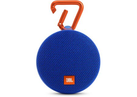 JBL - JBLCLIP2BLUE - Bluetooth & Portable Speakers