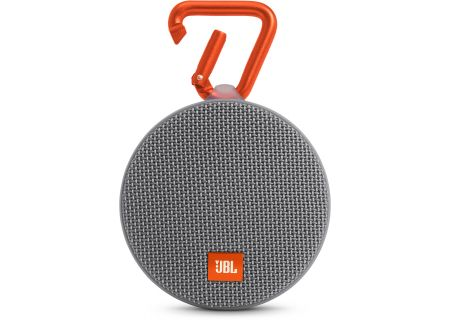 JBL - JBLCLIP2GRAY - Bluetooth & Portable Speakers