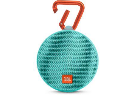 JBL - JBLCLIP2TEAL - Bluetooth & Portable Speakers