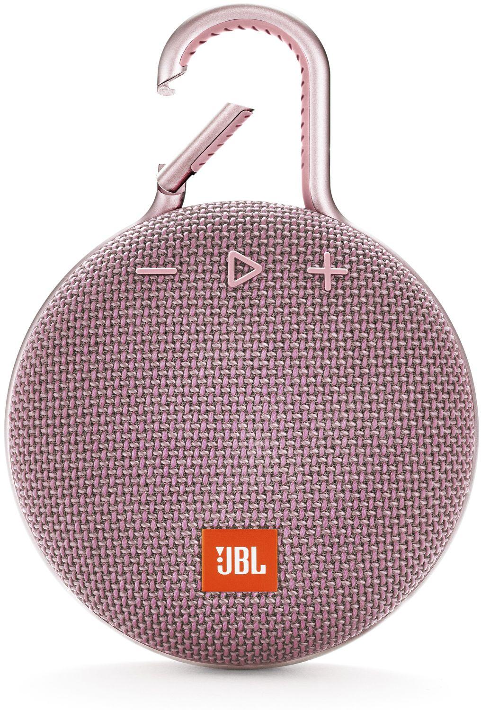 Jbl Clip 3 Pink Portable Bluetooth Speaker Jblclip3pink Flip Iii Dusty