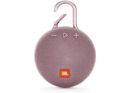 JBL - JBLCLIP3PINK - Bluetooth & Portable Speakers