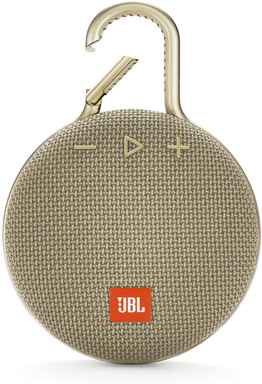 Jbl Clip 3 Sand Portable Bluetooth Speaker Jblclip3sand