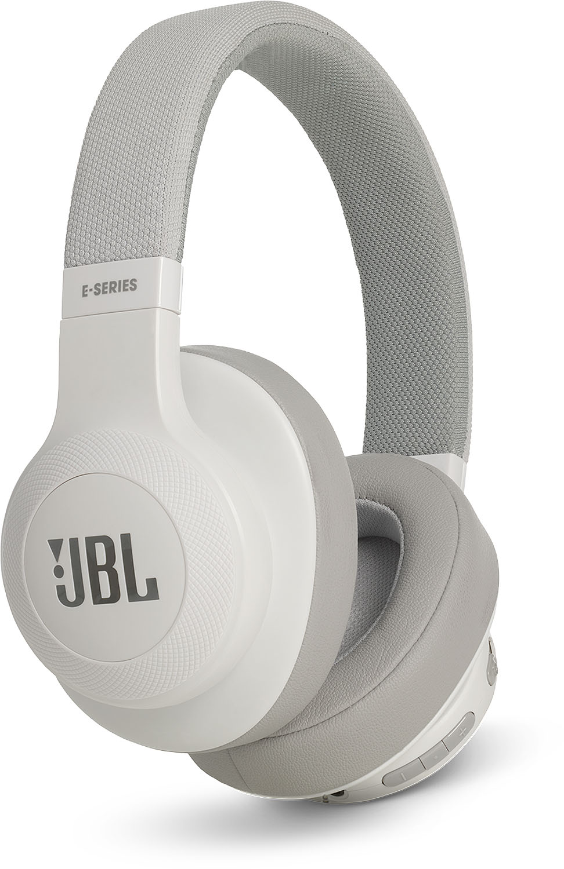 Jbl White Wireless Over Ear Headphones Jble55btwht