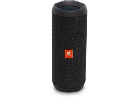 JBL Flip 4 Black Wireless Portable Stereo Speaker - JBLFLIP4BLKAM
