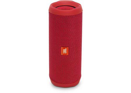 JBL - JBLFLIP4REDAM - Bluetooth & Portable Speakers