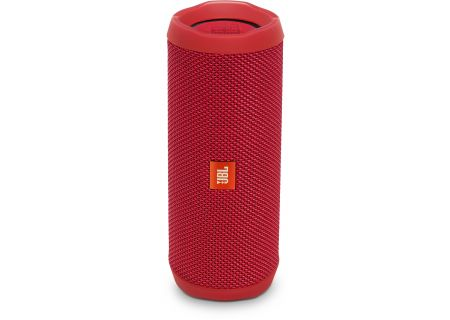 JBL - JBLFLIP4REDAM - Bluetooth & Portable Speakers