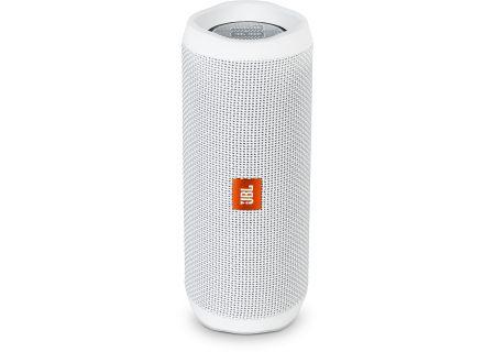JBL - JBLFLIP4WHTAM - Bluetooth & Portable Speakers
