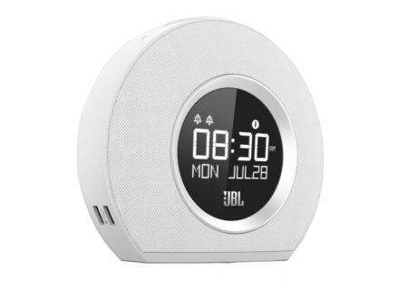 JBL White Horizon Alarm Clock  - JBLHORIZONWHTAM