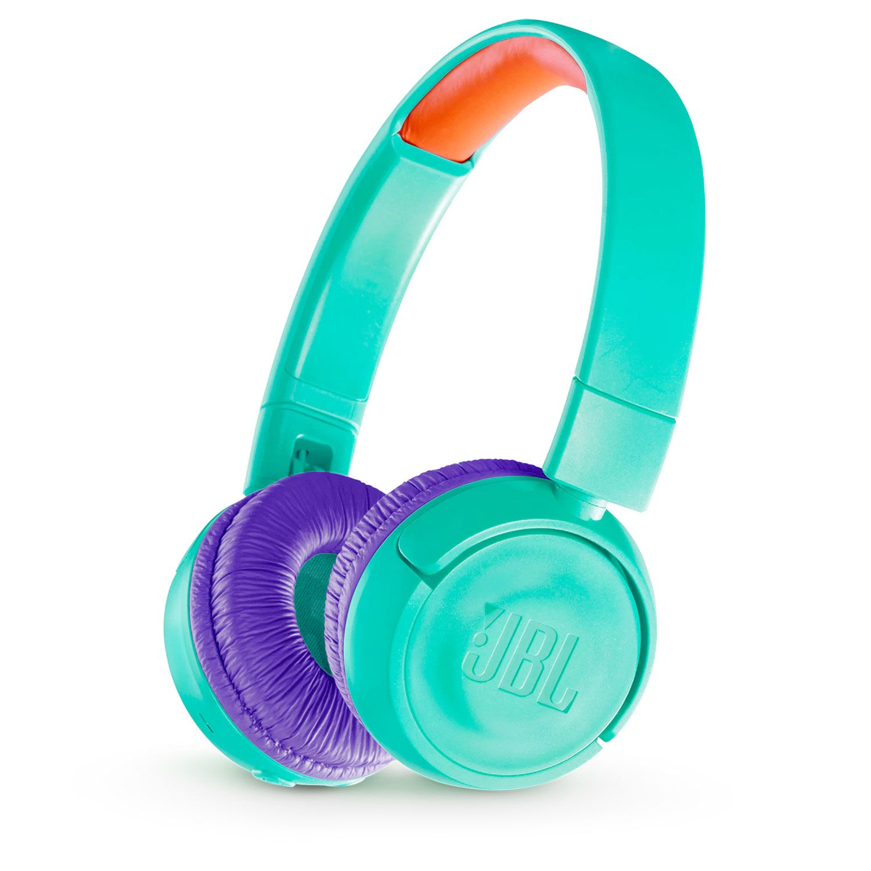 520ad483e30 JBL JR300BT Tropic Teal Kids Wireless On-Ear Headphones - JBLJR300BTTEL
