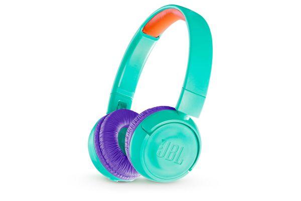 JBL JR300BT Tropic Teal Kids Wireless On-Ear Headphones - JBLJR300BTTEL