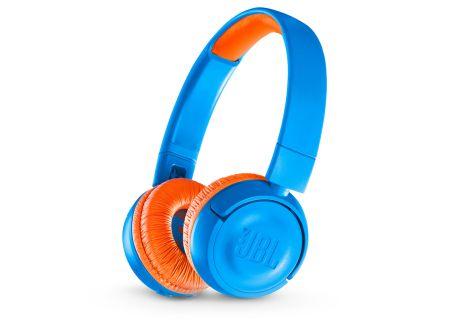 JBL JR300BT Rocker Blue Kids Wireless On-Ear Headphones - JBLJR300BTUNO