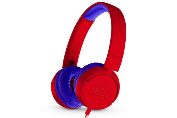 JBL JR300 Spider Red Kids Wired On-Ear Headphones - JBLJR300REDAM