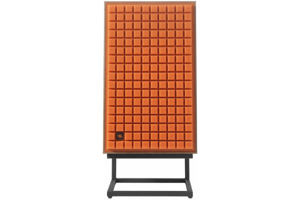 "Large image of JBL L100 Classic 12"" Orange 3-Way Bookshelf Loudspeaker - JBLL100CLASSICORG"