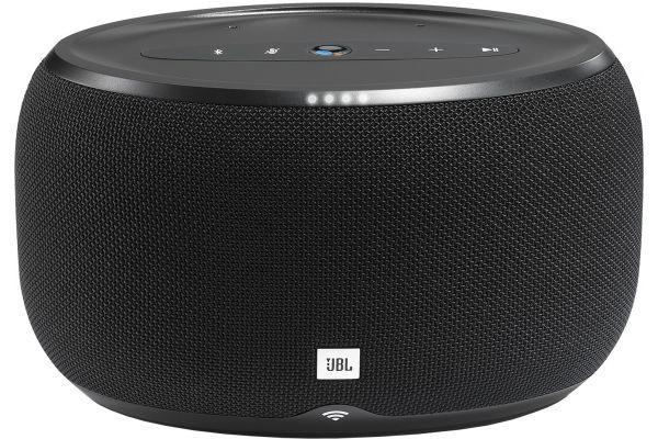 Large image of JBL Link 300 Black Bluetooth Voice Activated Speaker - JBLLINK300BLKUS