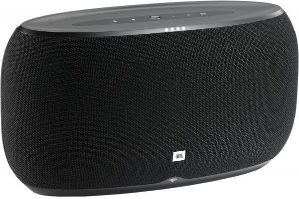 Large image of JBL Link 500 Black Bluetooth Voice Activated Speaker - JBLLINK500BLKUS