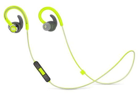 JBL Green Reflect Contour 2 Wireless Sport In-Ear Headphones - JBLREFCONTOUR2GRN