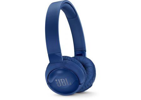 JBL TUNE600BTNC Blue On-Ear Wireless Headphones - JBLT600BTNCBLUAM
