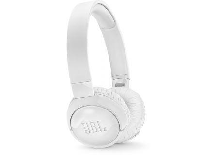 JBL TUNE600BTNC White On-Ear Wireless Headphones - JBLT600BTNCWHT