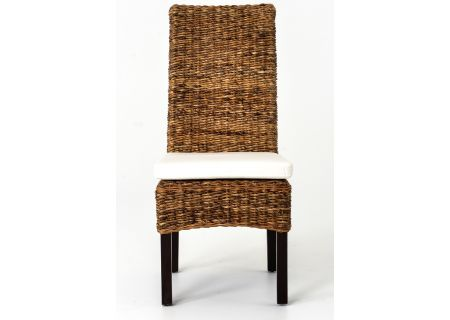 Four Hands Grass Roots Collection Brown Banana Leaf  Dining Chair  - JCHR-B1