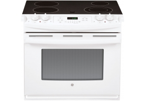 GE - JD630DFWW - Slide-In Electric Ranges