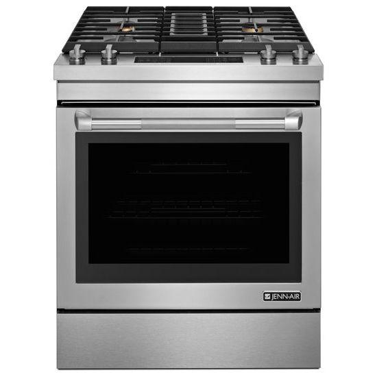 Jenn Air Kitchen Appliance Packages: Jenn-Air Pro Stainless Dual-Fuel Range