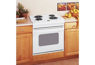 GE - JDS28DNWW - Slide-In Electric Ranges