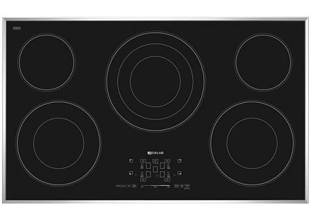 "Jenn-Air 36"" Stainless Steel Electric Radiant Cooktop - JEC4536BS"