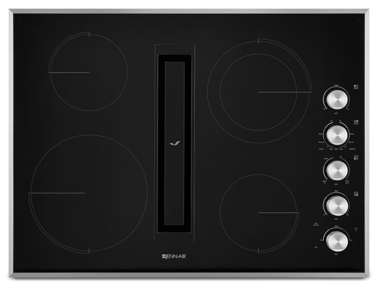 Jenn Air 30 Downdraft Electric Cooktop ~ Jenn air electric cooktop with downdraft jed gs