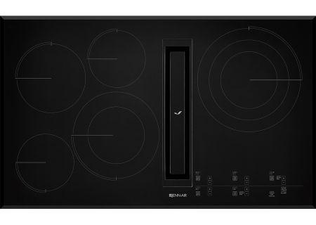 """Jenn-Air 36"""" Black JX3 Electric Downdraft Cooktop - JED4536GB"""