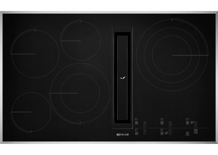 "Jenn-Air 36"" Stainless Steel JX3 Electric Downdraft Cooktop - JED4536GS"
