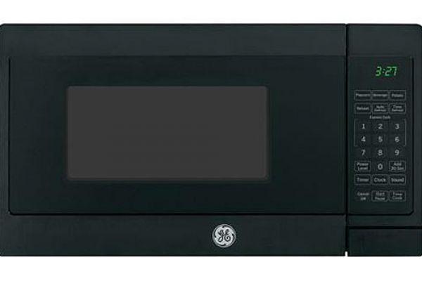 Large image of GE Black Countertop Microwave Oven - JEM3072DHBB