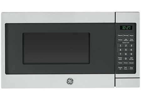 GE Stainless Steel Countertop Microwave Oven - JES1072SHSS