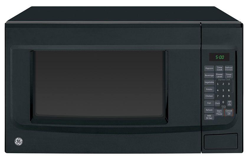 Ge Black Countertop Microwave Oven