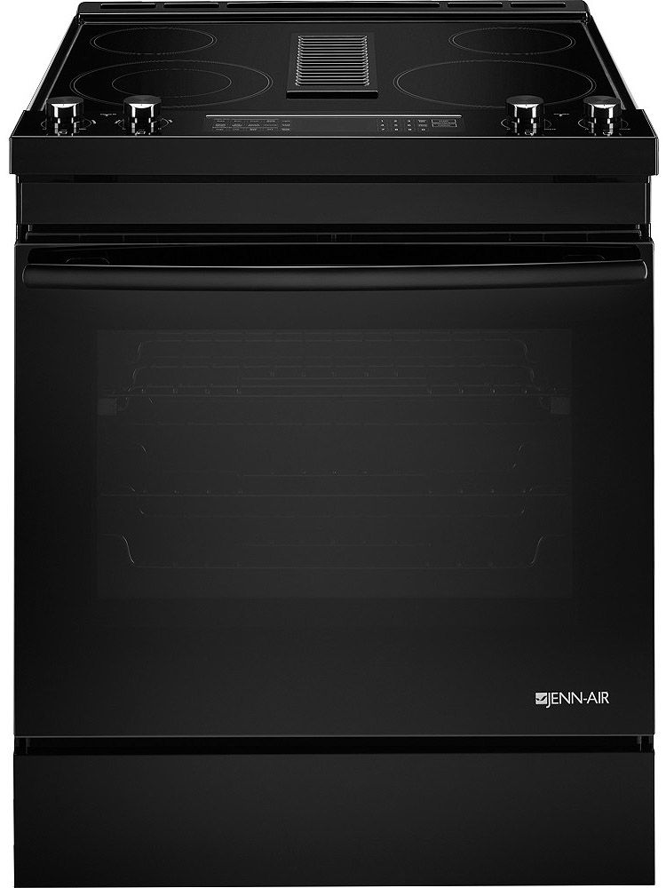 Jenn Air 30 Quot Black Electric Slide In Range Jes1750fb
